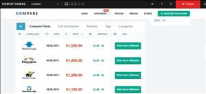 Sitios web de comparación de precios (PCW)